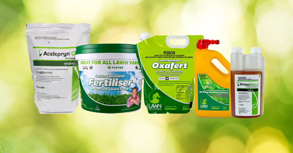 products for lawn care